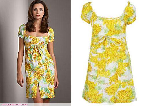 DVF Aubrey Dress vs Forever 21 Pinecone Dress