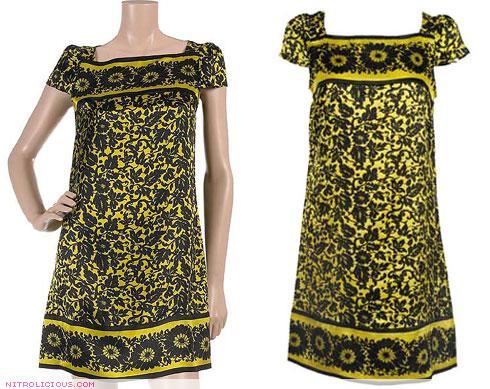 DVF Cerisier Dress vs Forever 21 Silk Sabrina Dress